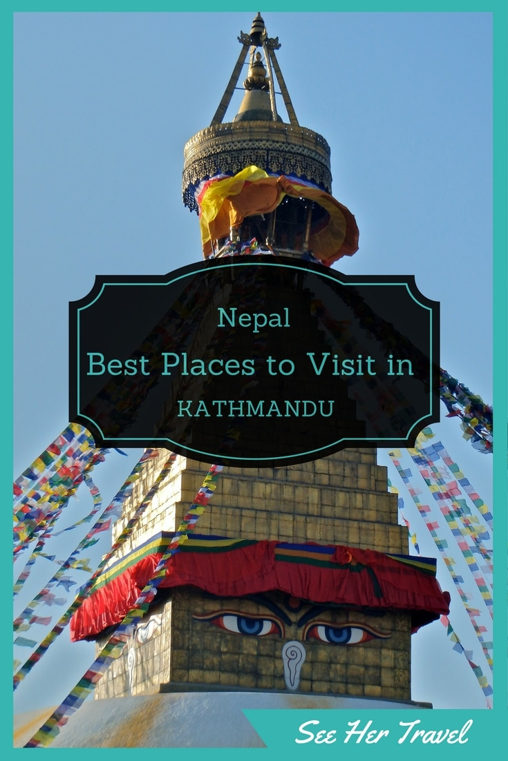 The incredible city of Kathmandu Nepal has so much to see it can be overwhelming. But get out of Thamle and walk the streets of this eclectic capital and you will not be sorry! www.seehertravel.com