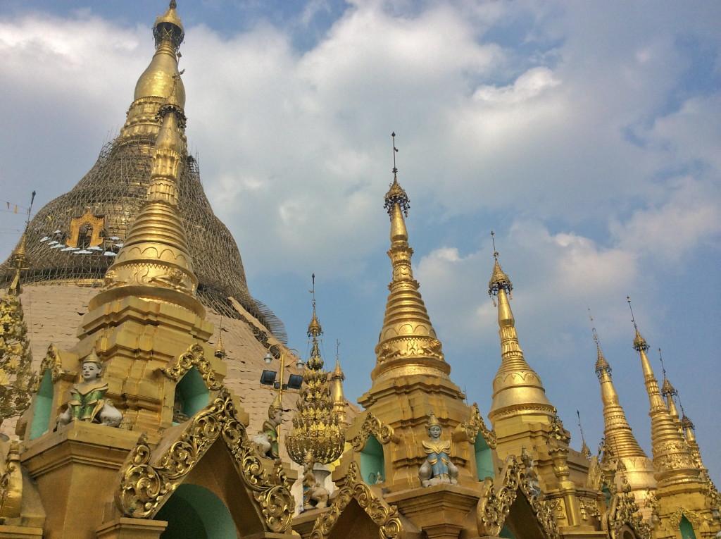 Shwedagon Paya Temple, Yangon, Burma Myanmar