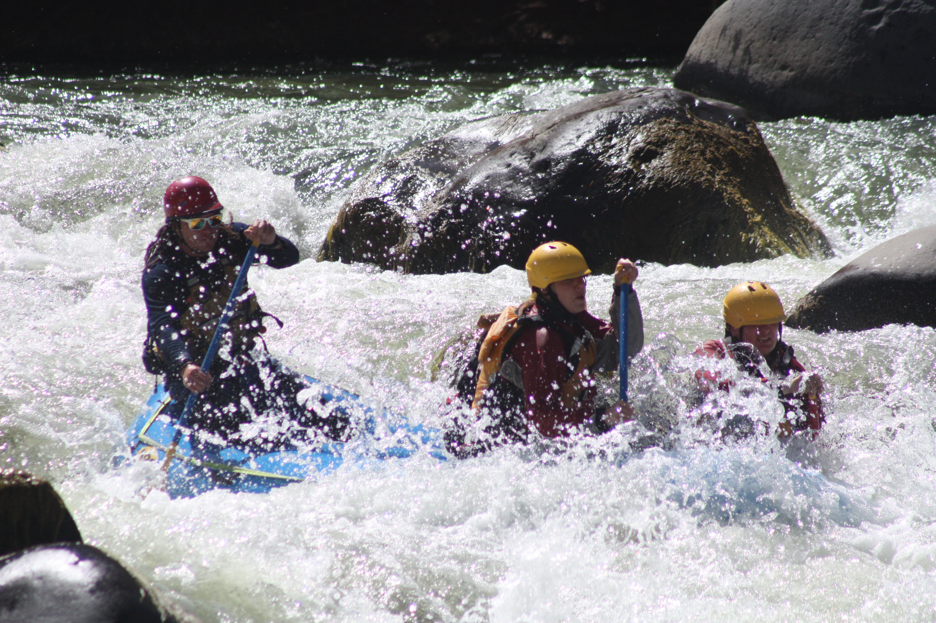white water rafting in arequipa peru adrenaline sports in peru outdoors activities in Arequipa peru