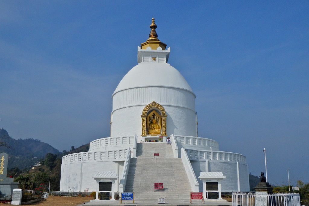 World Peace Stupa in Pokhara, Nepal how to get to the stupa in pokhara what to see in pokhara places to visit in nepal