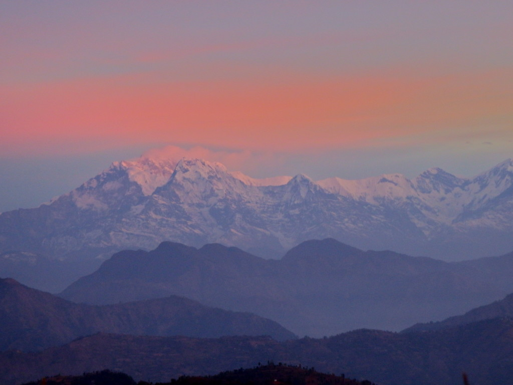 view of the Himalayas from Tansen Nepal off the beaten path destinations in nepal visit to tansen in nepal travel blog