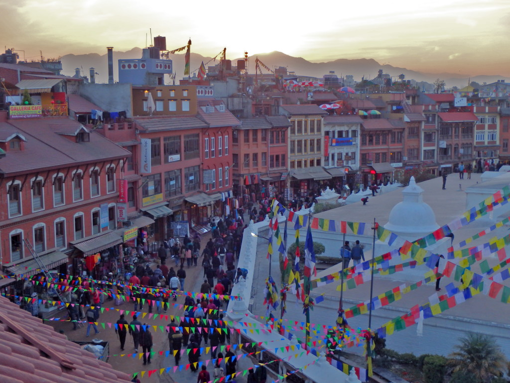 Boudha, Kathmandu, Nepal best places to watch the sunset in kathmandu top viewpoints in kathmandu