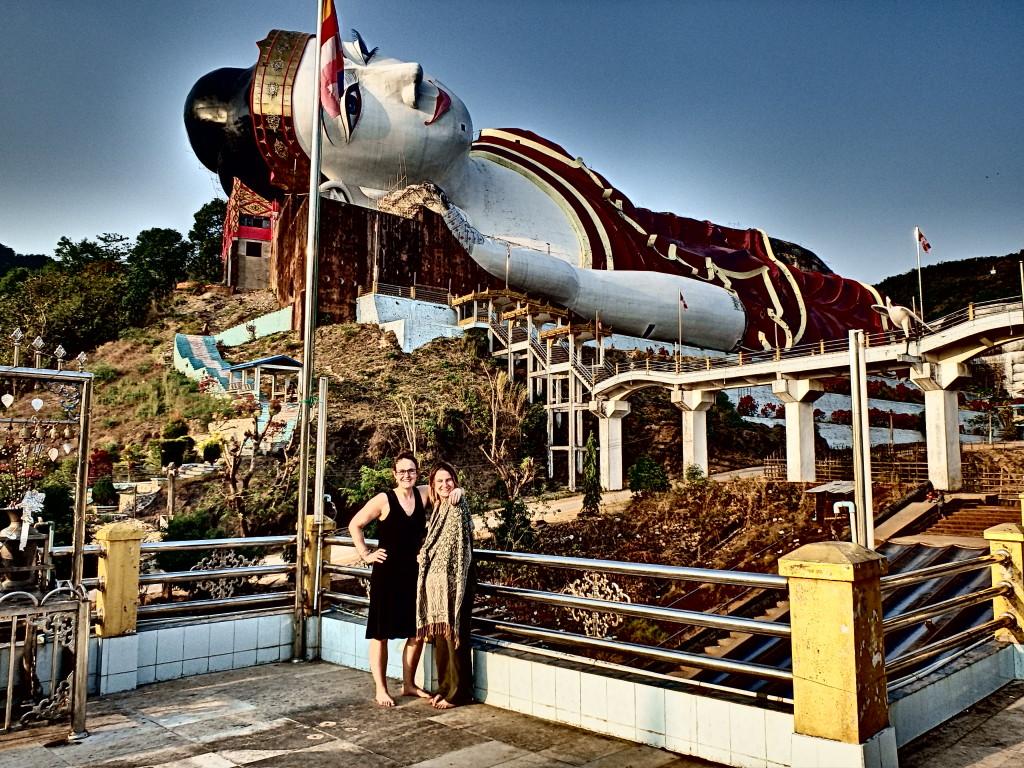 Largest Reclining Buddha in the world, Win Sein Taw Ya Myanmar