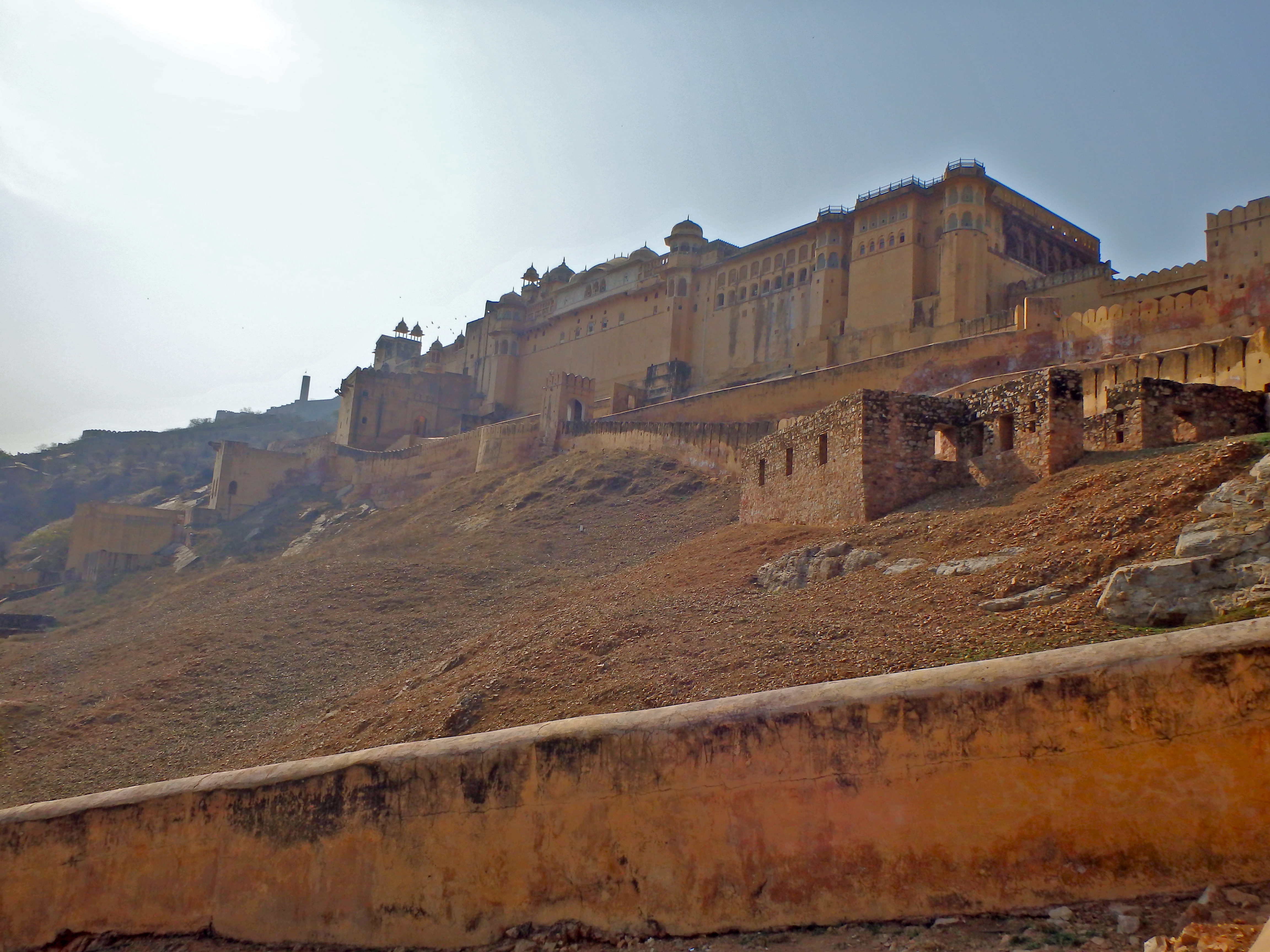 The Amber Fort Jaipur, India forts open to the public what fort to visit in india where is the amber fort travel blog