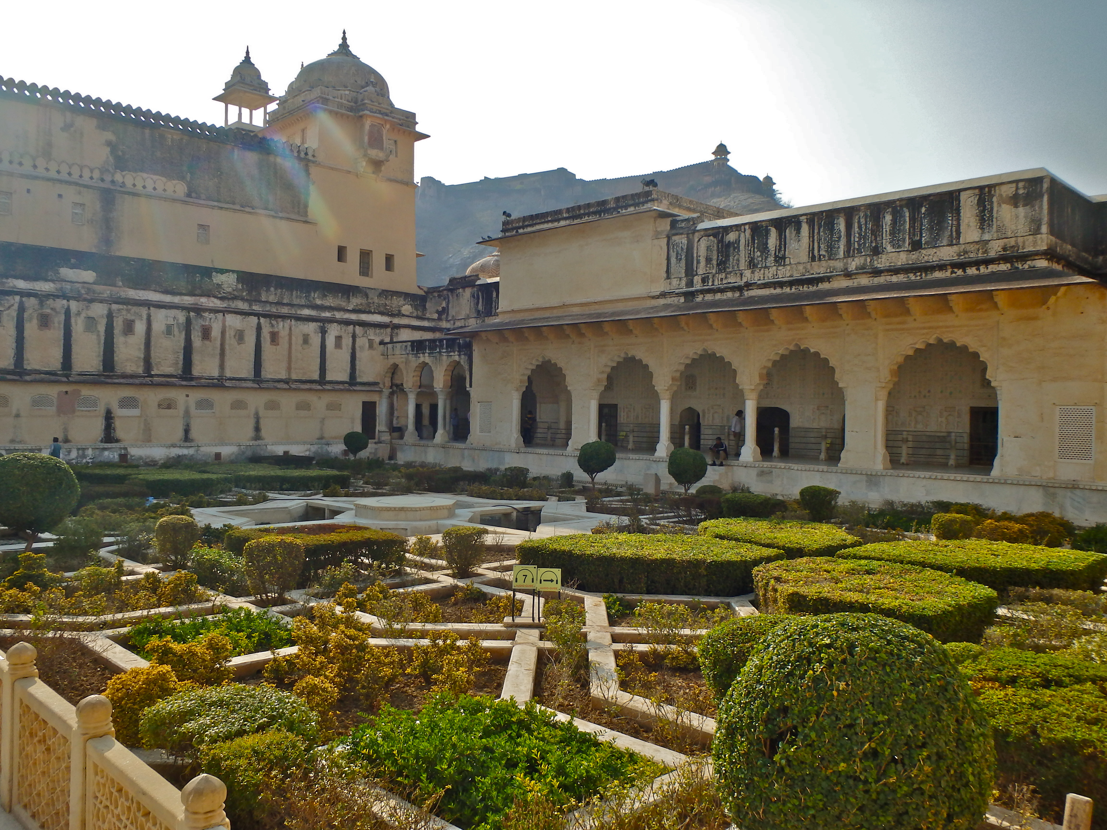 Gardens of the Amber Fort, Jaipur, India forts in rajasthan open to the public tourist attractions in jaipur