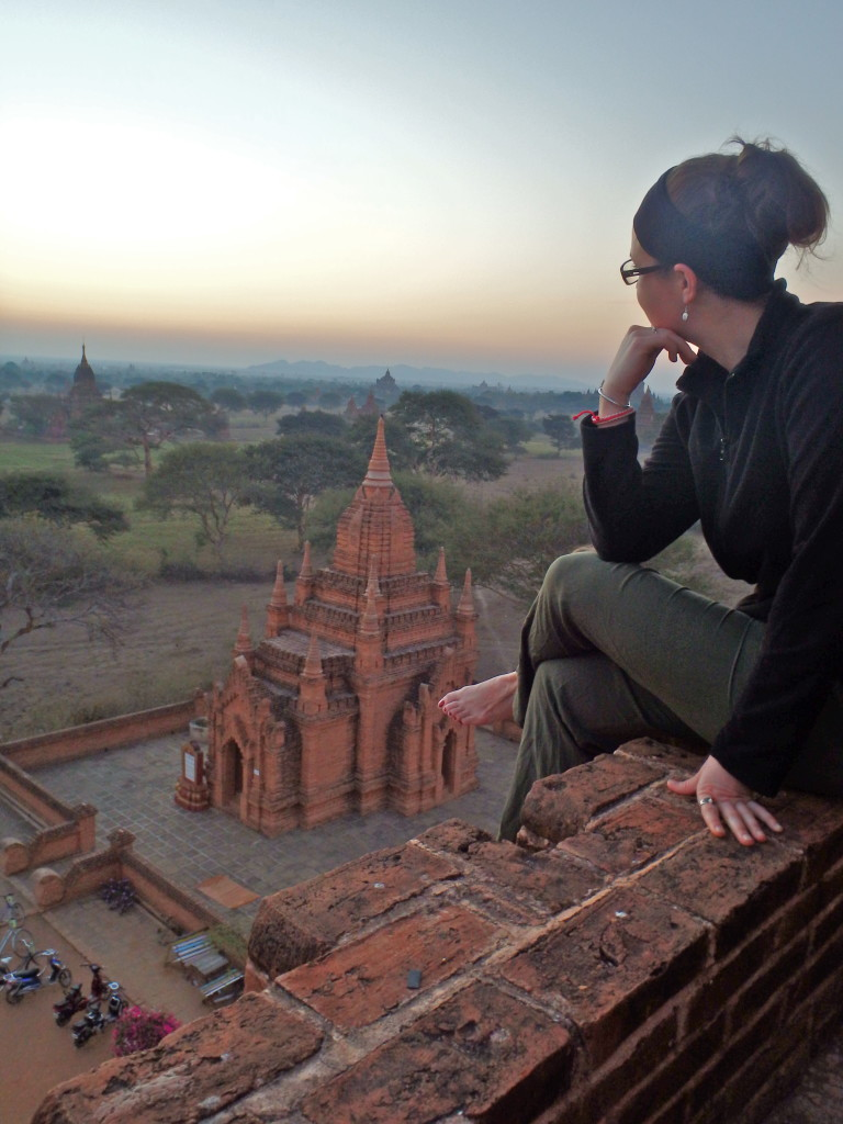 Sunrise in Bagan, Burma things to do in Bagan myanmar travel guide