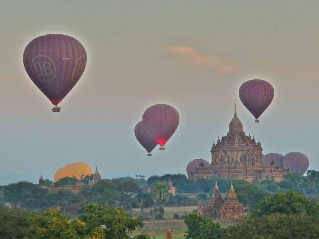 hot air balloon Bagan myanmar best activities for the family in myanmar