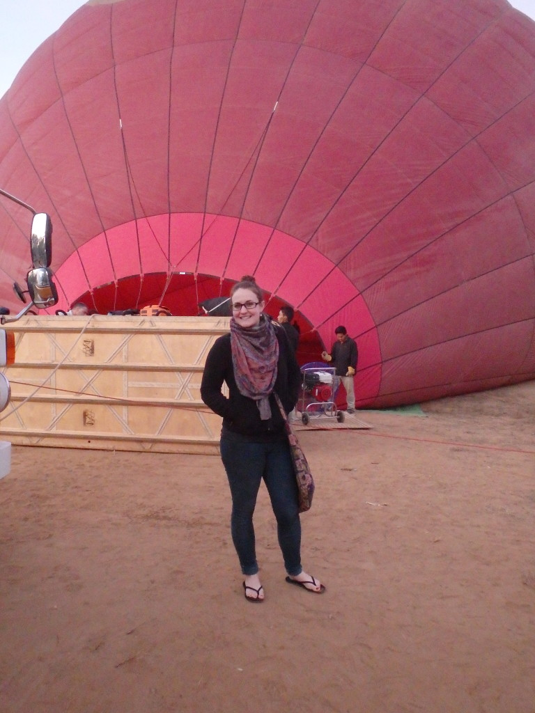 hot air balloon Bagan Burma Myanmar
