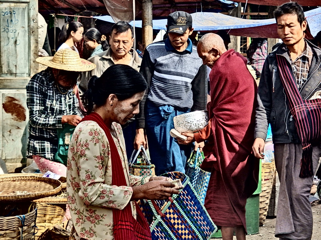Lake Inle market myanmar