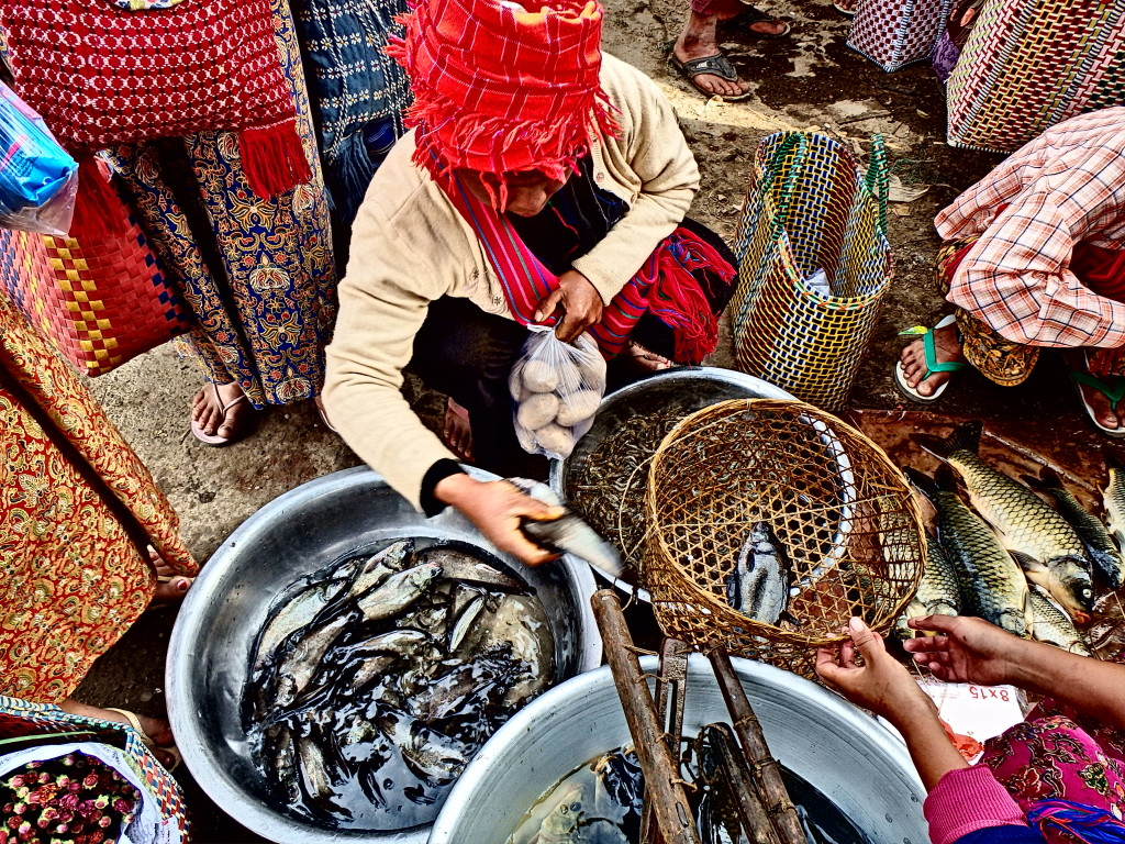Inle Lake market myanmar things to do in lake inle