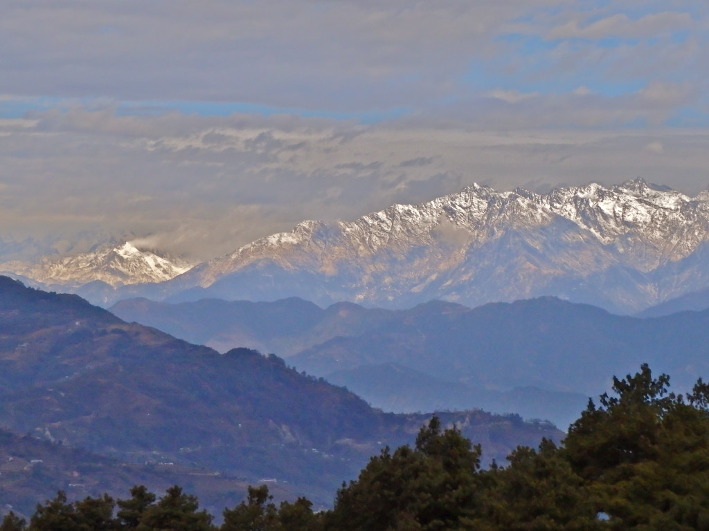 View of the himalayas from Nagarkot, Kathmandu Valley, Nepal best places to see the himalayas where to see the himalayas near kathmandu