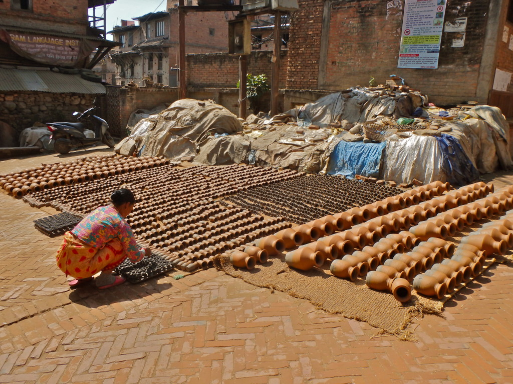 Artistry and Potmaking in Bhaktapur,where to go in the kathmandu valley things to see in Bhaktapur kind curd