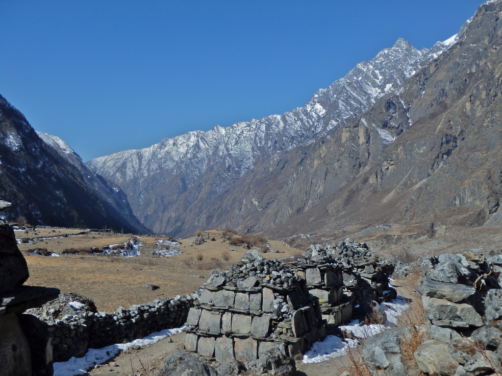 Mani stones in the himalayas, Langtang Valley Trek, Nepal where to hike in nepal for solo women best trails in nepal for beginners