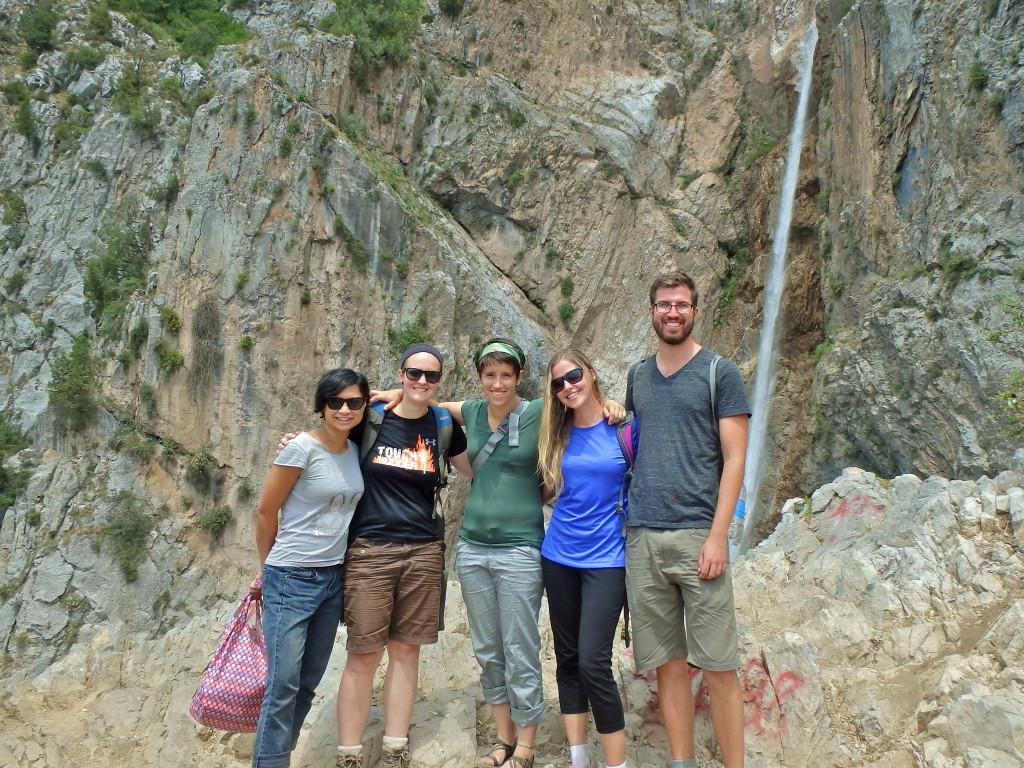 waterfalls, Arslanbob Kyrgyzstan, travel blog