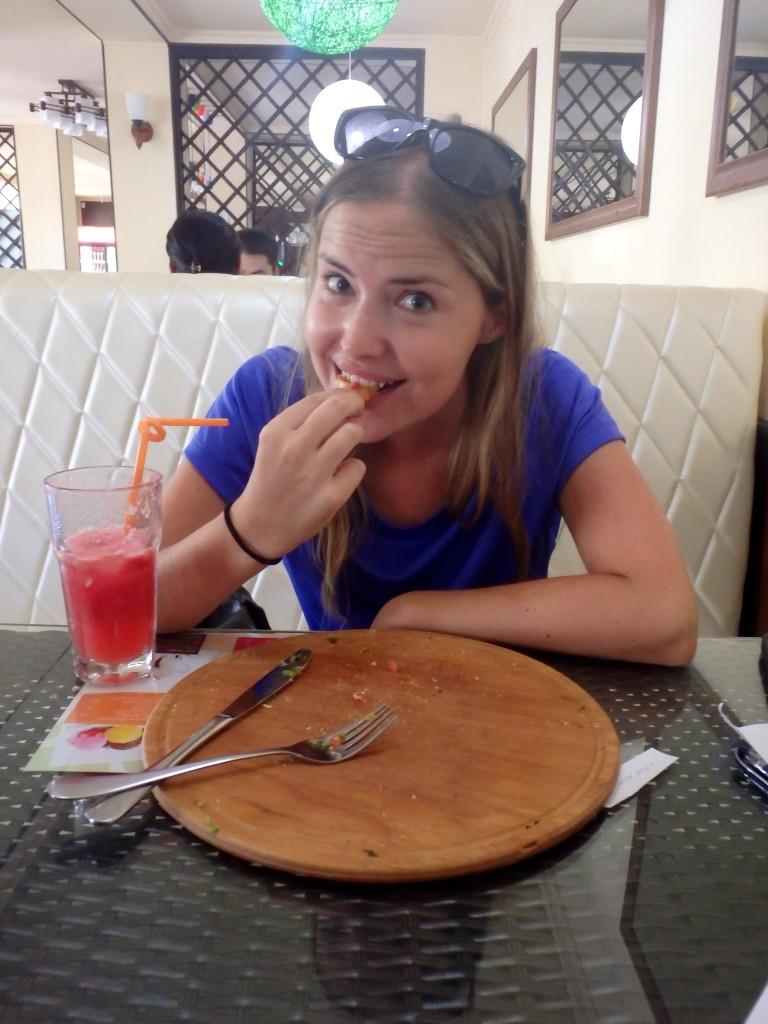 restaurants in Osh, Kyrgyzstan travel blog