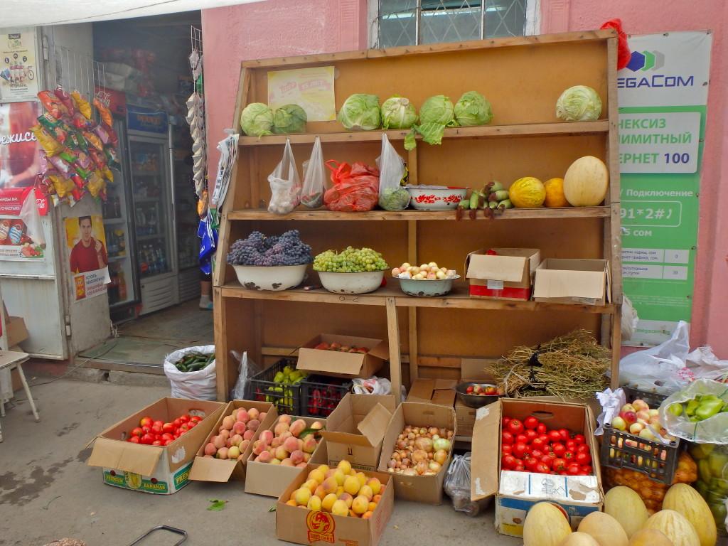Osh Kyrgyzstan travel blog, food in Kyrgyzstan