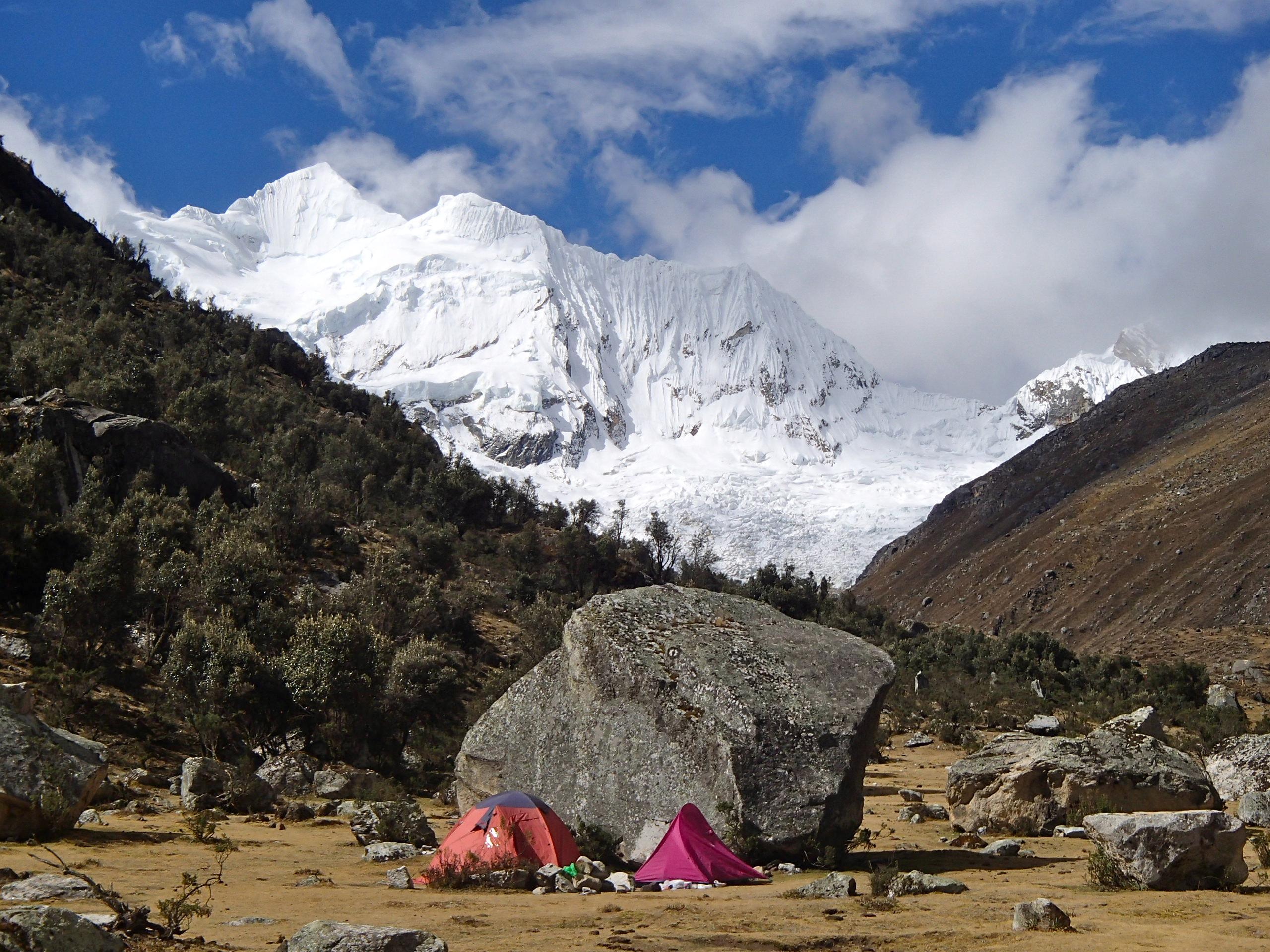 Our campsite, 3500metres, Huaraz Peru