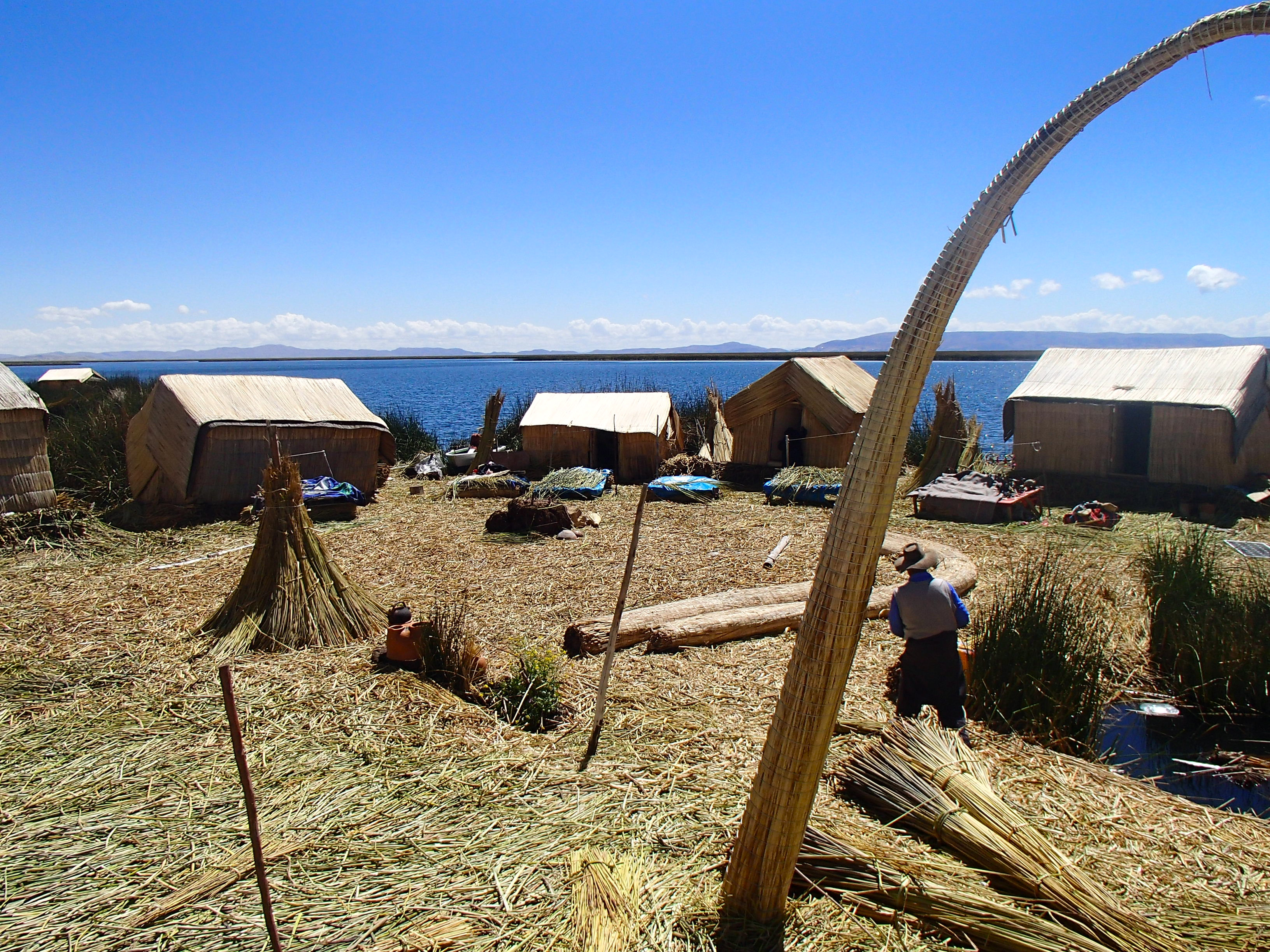 Lake Titicaca Floating Islands top places to visit in peru travel blog