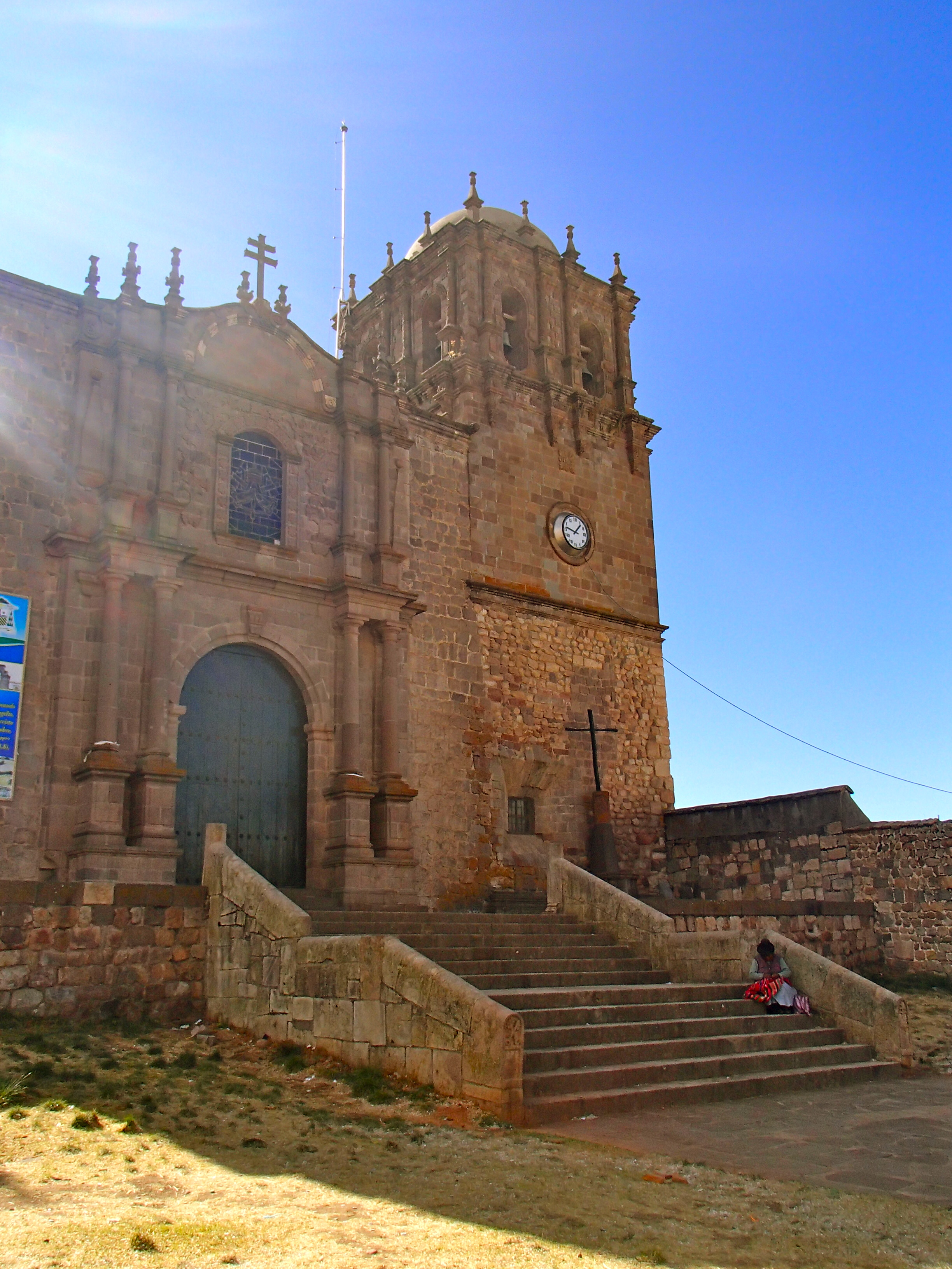 day trip to Juli Cathedral near puno peru things to do near puno