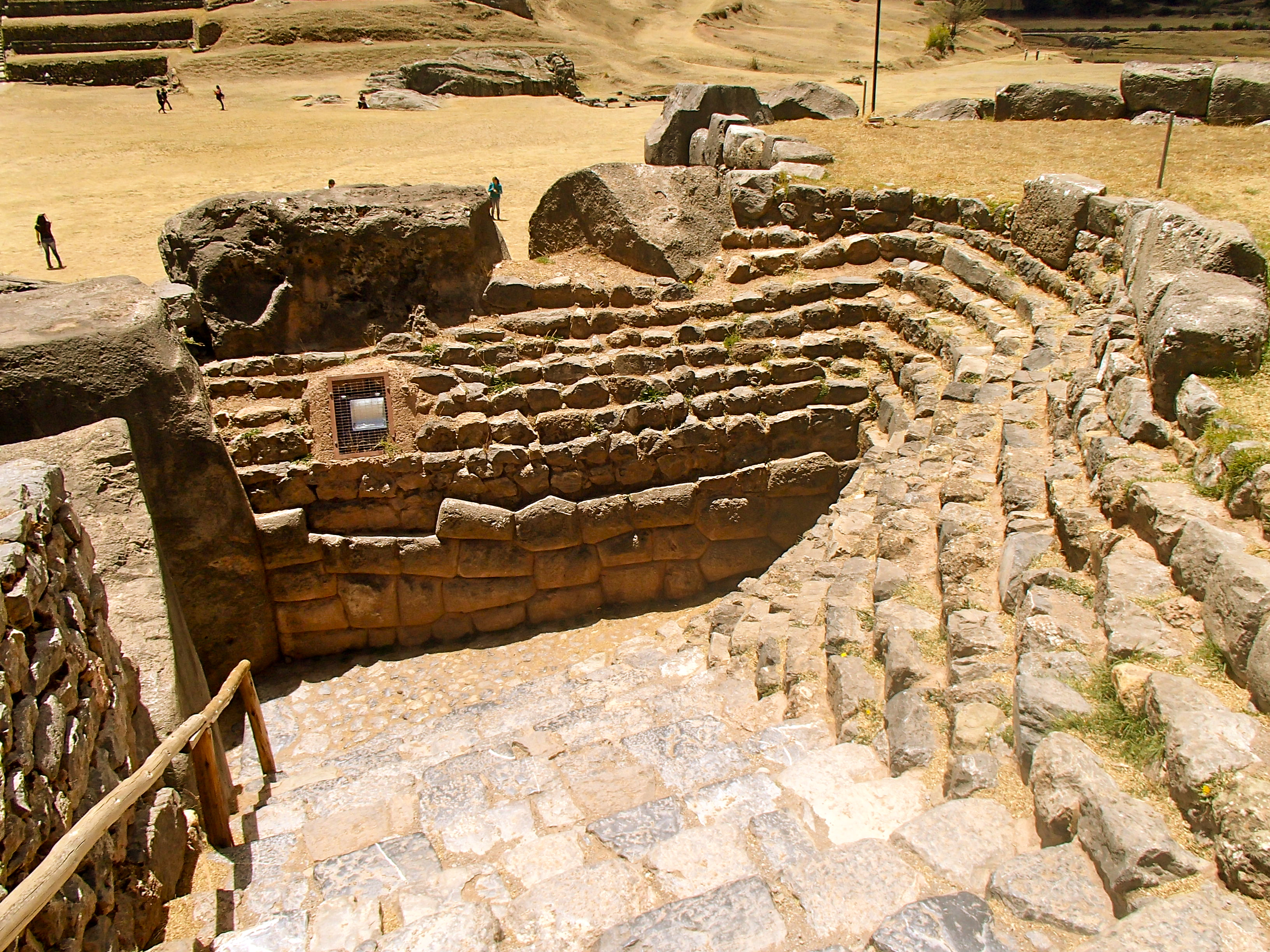 historical sites Sacsawaman in Cusco, peru culture attractions