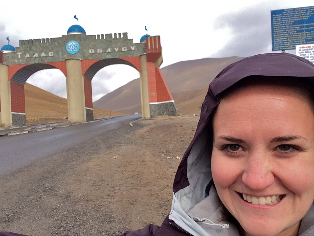 Travelling in to Talas Kyrgyzstan