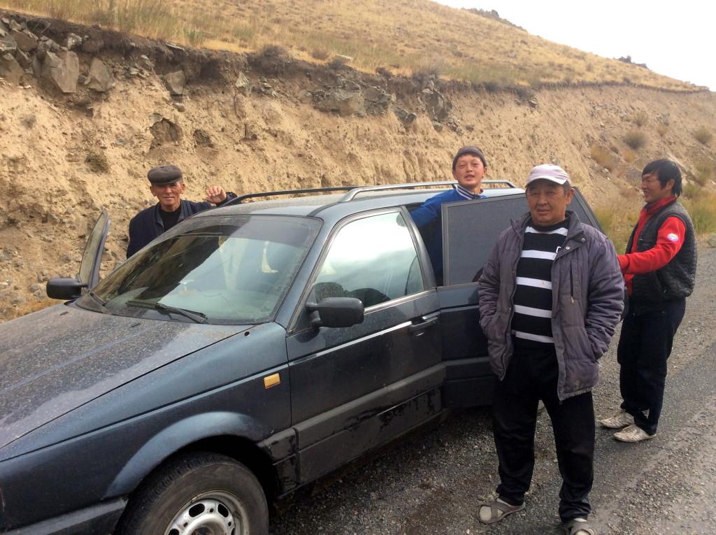 My ride into Talas, Kyrgyzstan