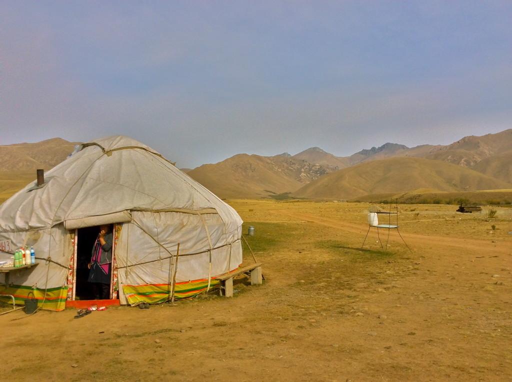 Stay in a yurt in Kyrgyzstan