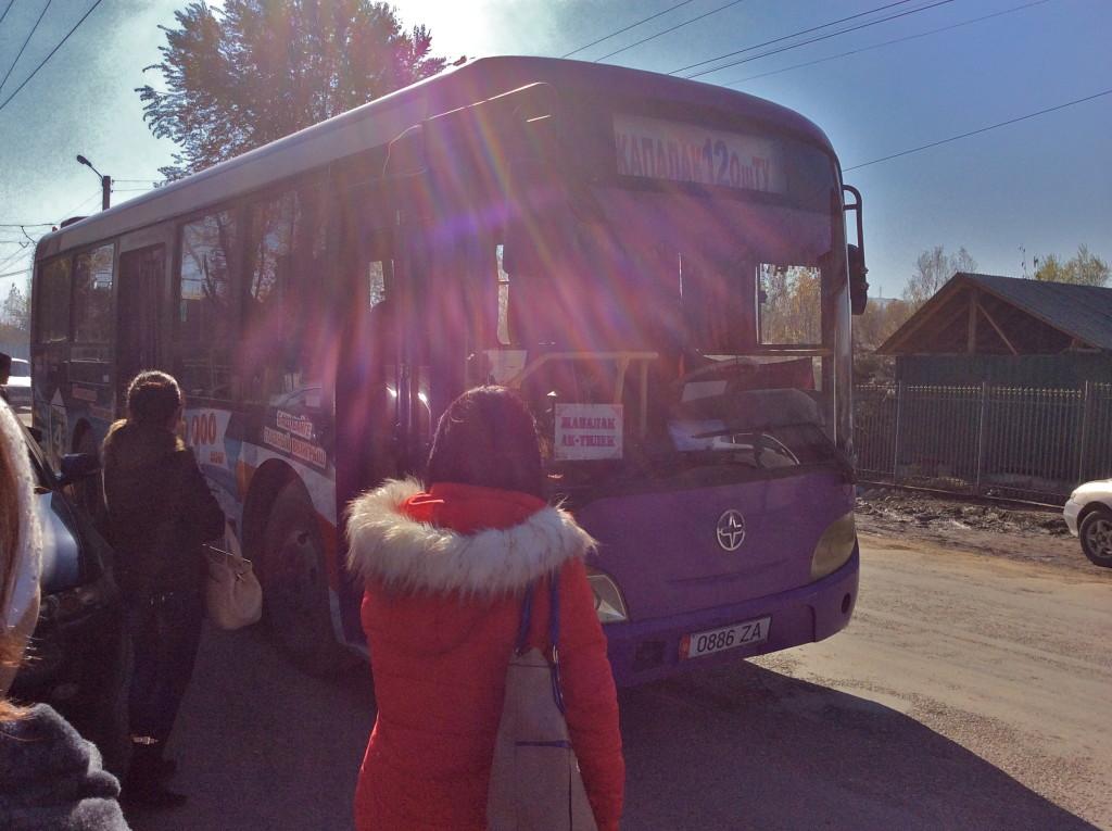buses in Osh Kyrgyzstan