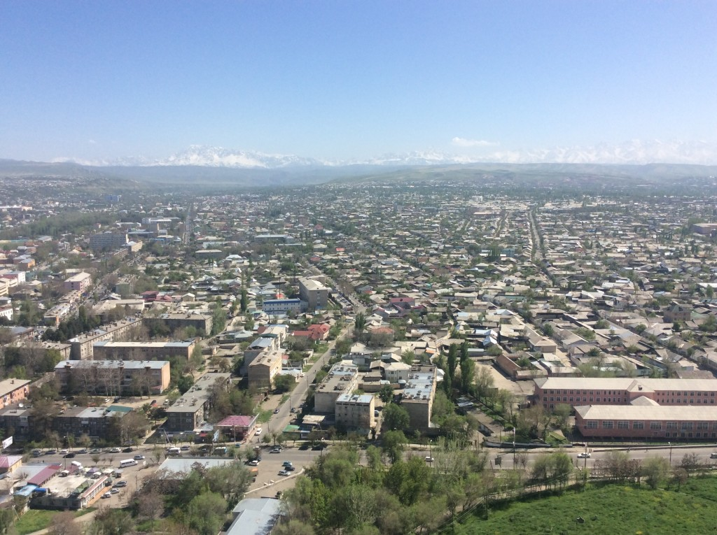 Osh, Kyrgyzstan from Sulaiman Too, Kyrgyzstan travel blog