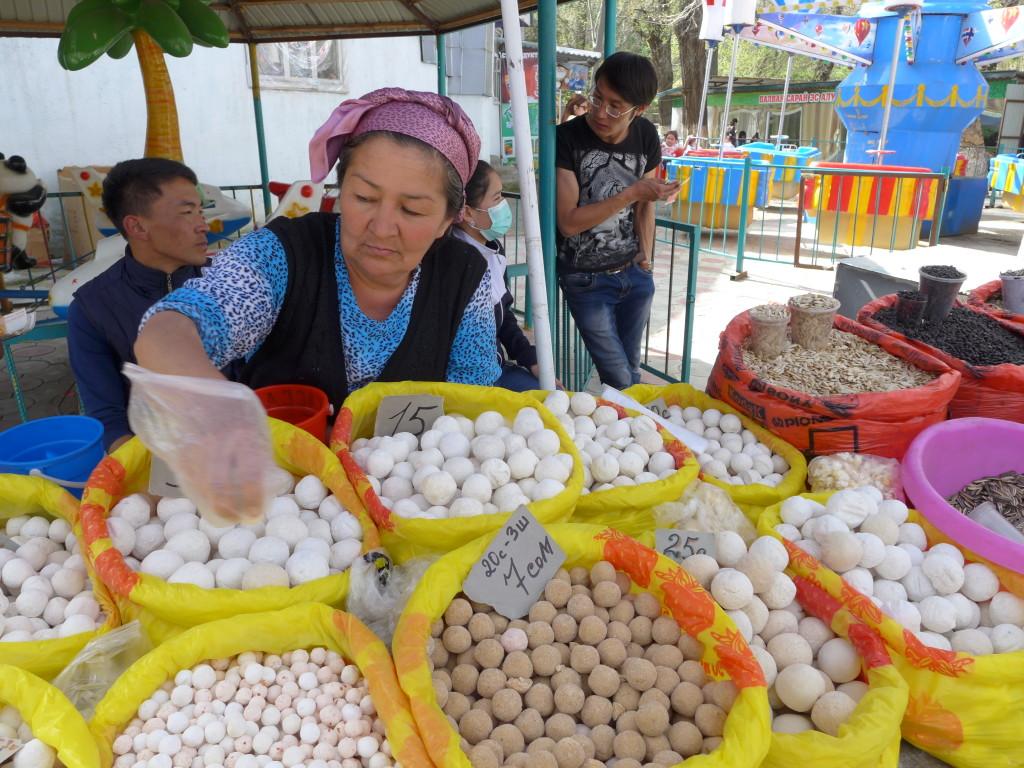 Central Asia bazaar Osh, Kyrgyzstan