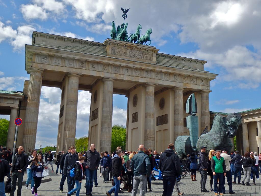 Brandenburg Gate Berlin what to see in Berlin in 4 days