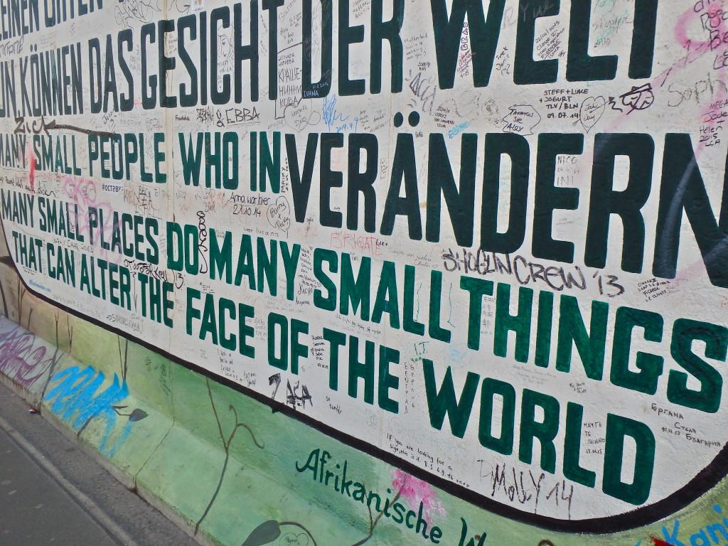 East Side Gallery- things to visit in Berlin Germany