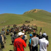 Kyrgyzstan Culture ~ Nomadic Horse Game Kok Boru