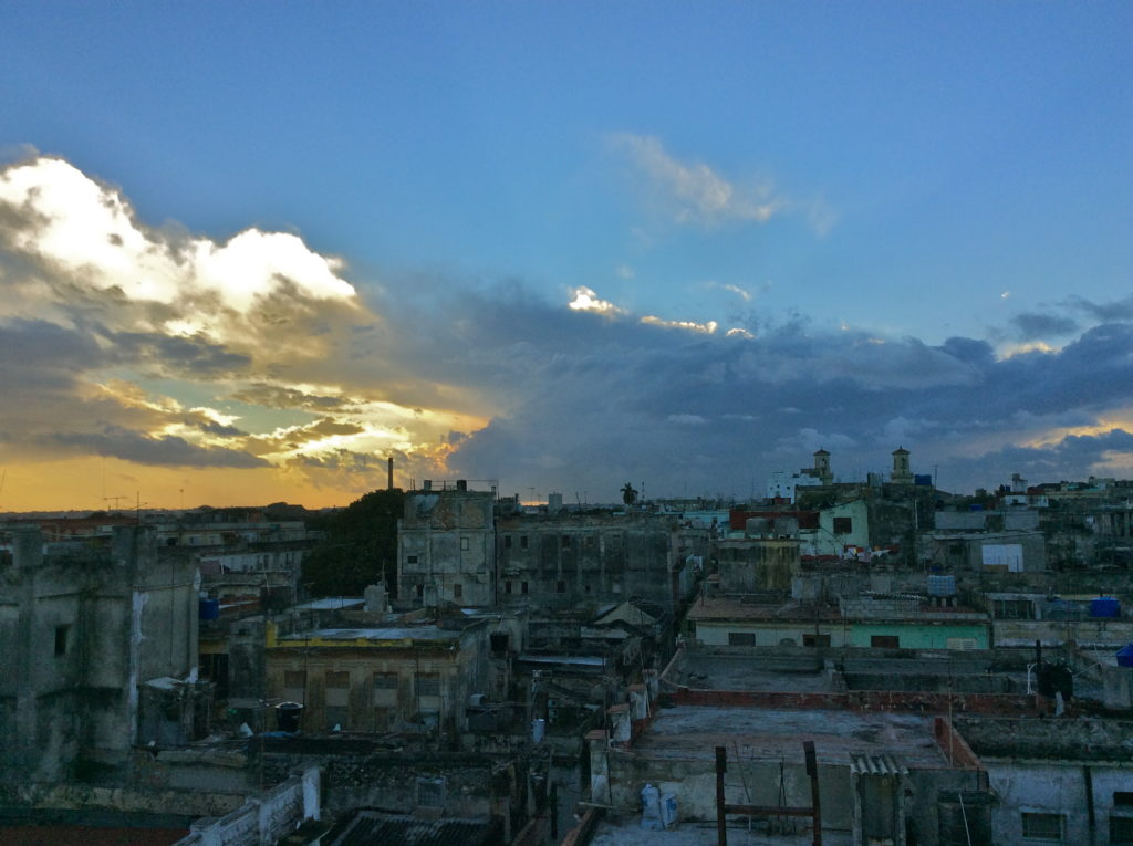 View of Havana from my rooftop havana cuba travel blog for solo female travellers tourist attractions in havana cuba