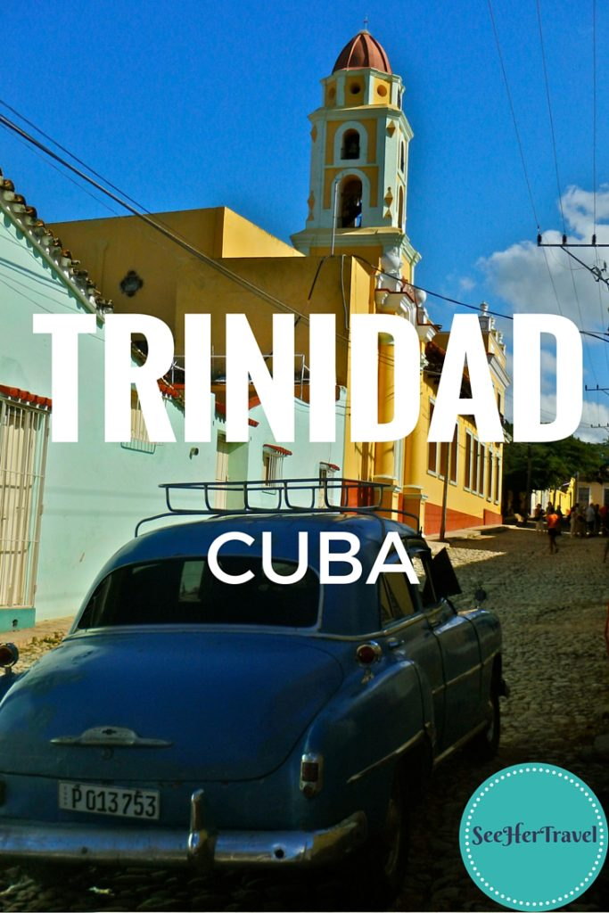 Charming Trinidad in Cuba holds UNESCO designation, presumably for the pretty buildings and ankle cracking cobblestone. Also, the stray dogs, so friendly.