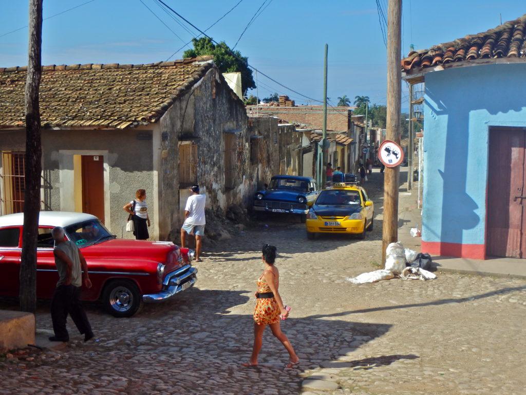 Trinidad Street Scene cuba travel blog for solo women travelling in cuba as solo women cuba travel blog things to do in trinidad