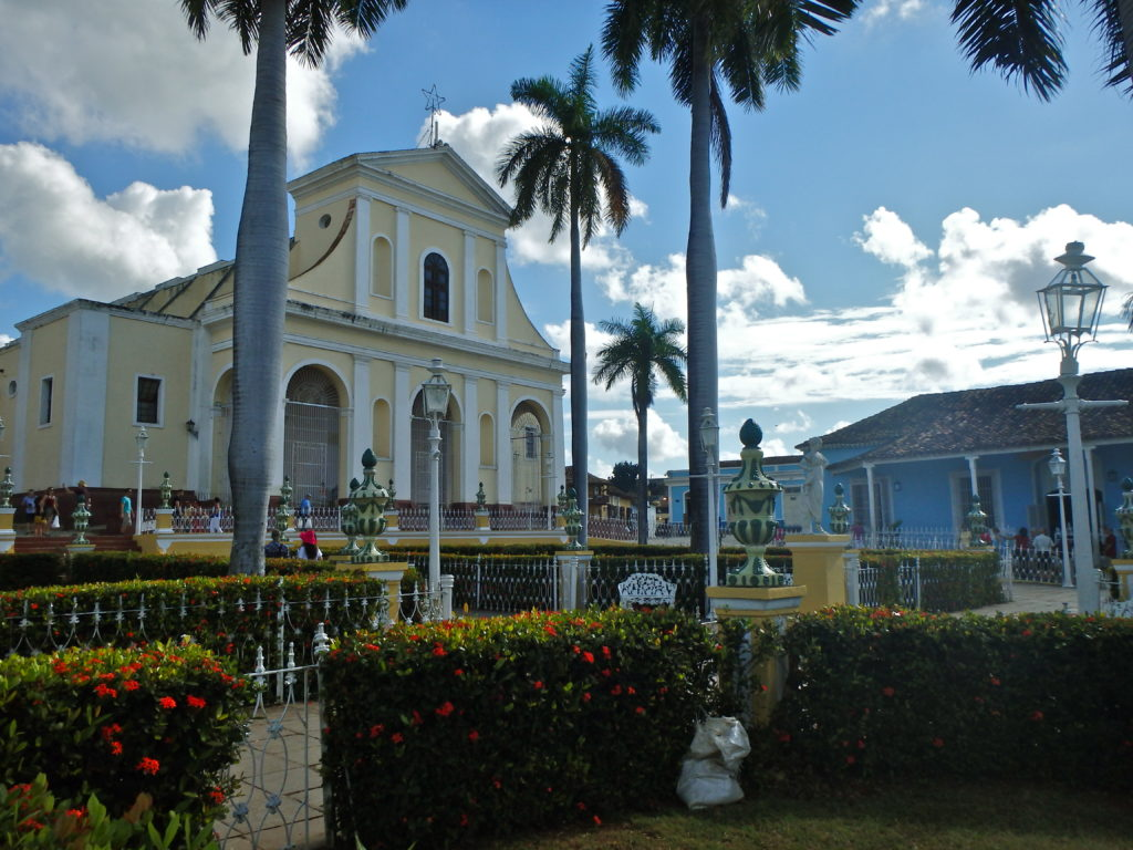Plaza Mayor in trinidad where to travel in cuba top activities for solo women in cuba