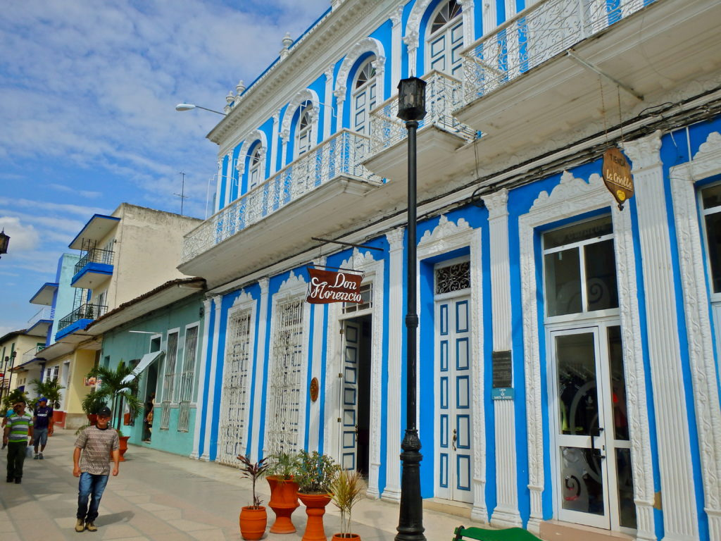 Sancti Spiritus street scene cuban small town where to get away from tourists in cuba real life cuba travel blog
