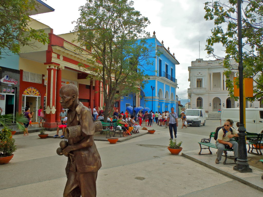 Sancti Spiritus Parque Serafin Sanchez travel blogs from cuba for solo travel budget travel in cuba where to stay in cuba