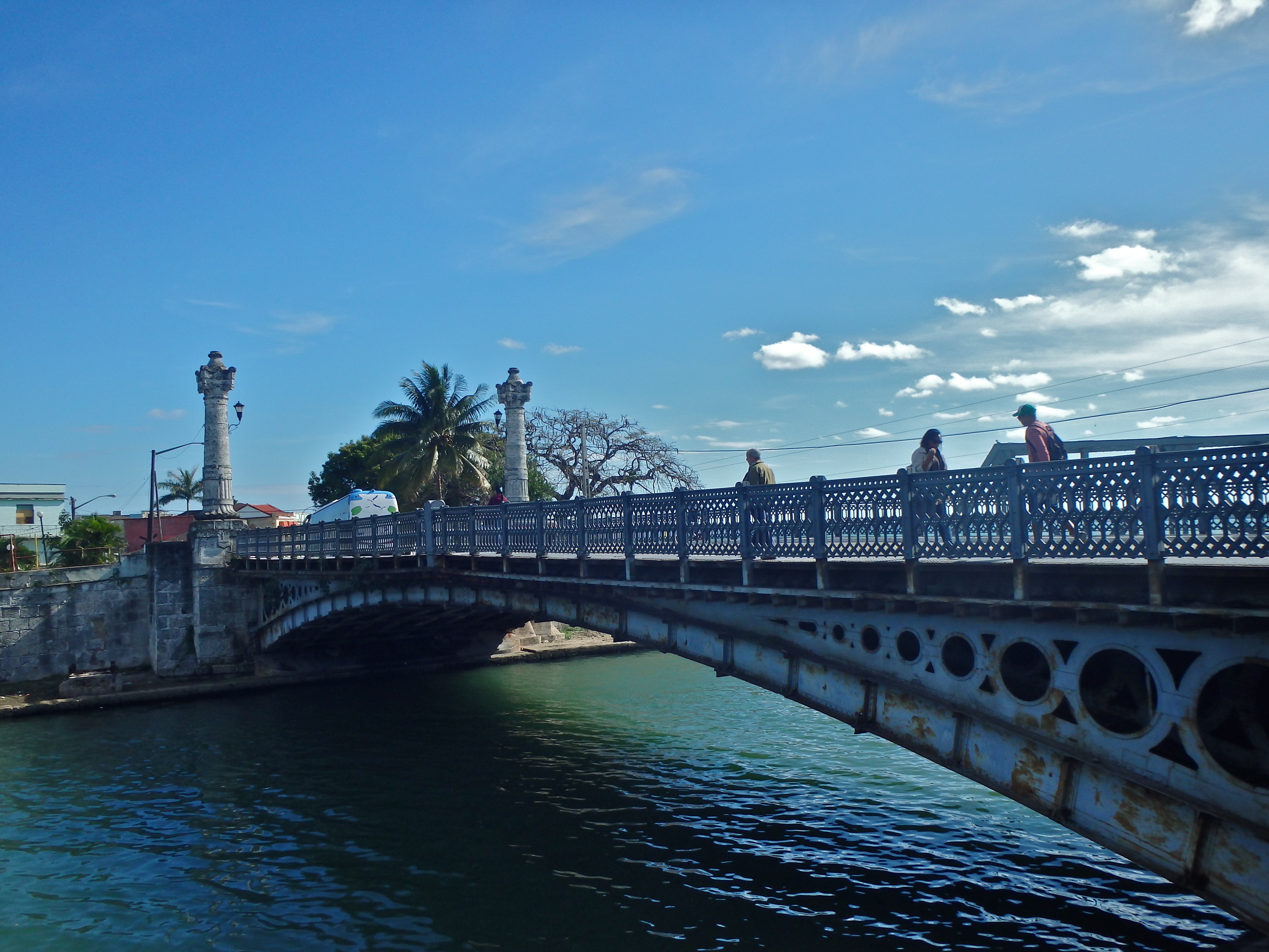 A Matanzas Bridge 3 weeks cuba itinerary what to see in cuba in 3 weeks travelling cuba for 3 weeks