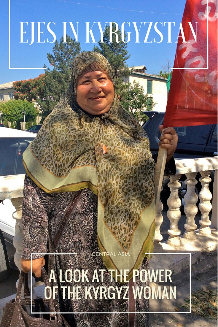 The older Kyrgyz women not only demand respect, but are observed to hold and use superpowers beyond belief. Who rules the world? The Eje!