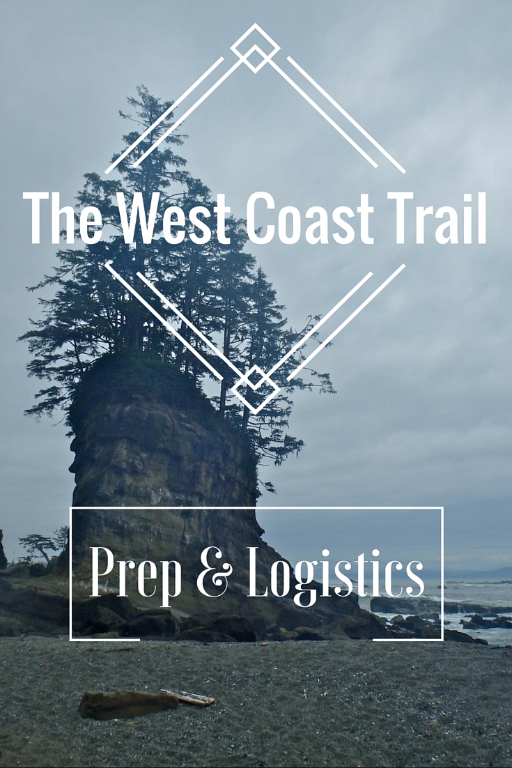 West Coast Trail in Canada blog series. This blog is a West Coast Trail preparation guide to help you avoid my mistakes and help you know what to bring.