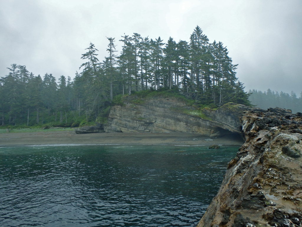 West coast trail Vancouver island Canada