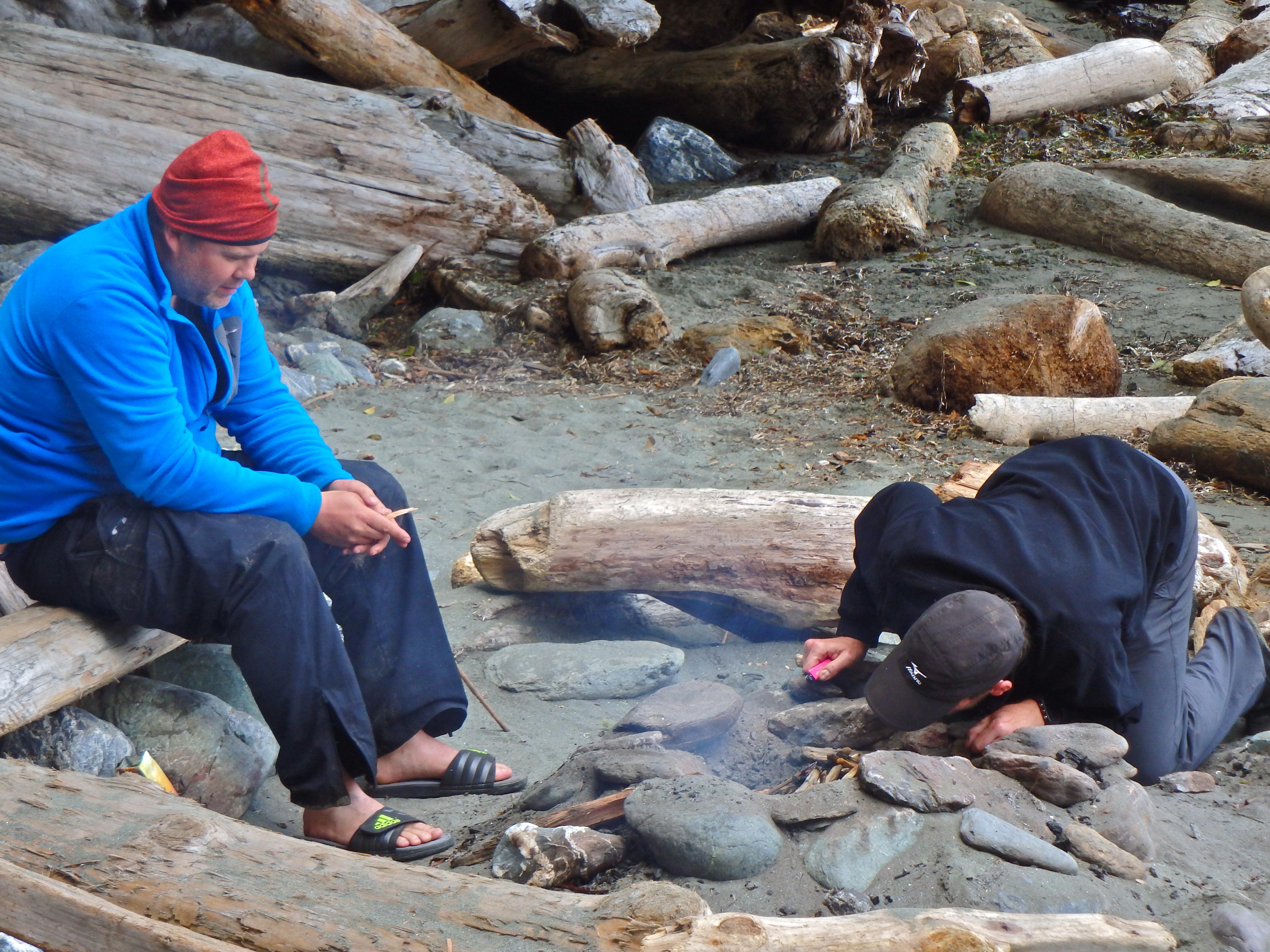 West Coast Trail campsites