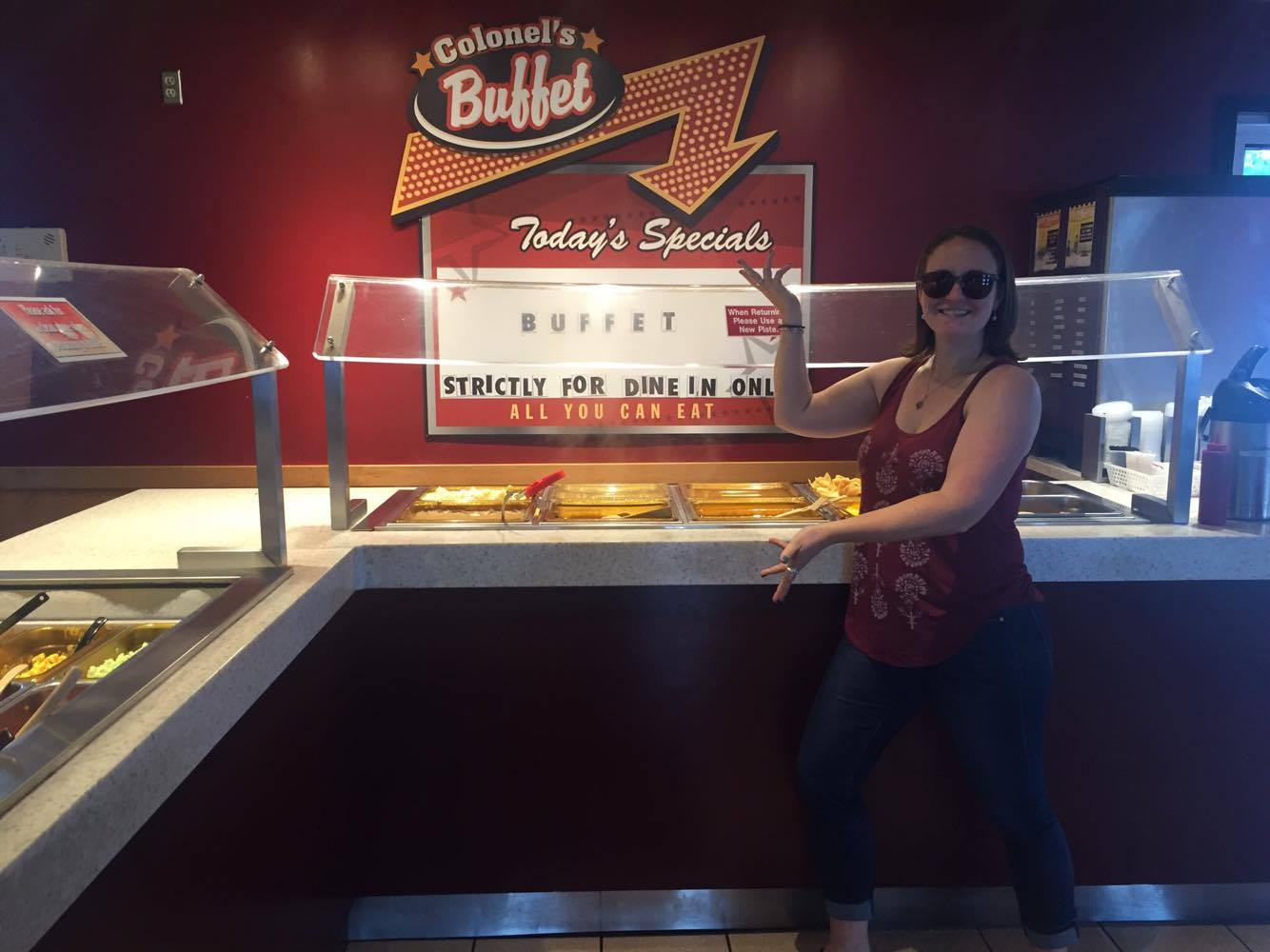 KFC buffet, things to do in Weyburn Saskatchewan day trips from regina saskatchewan