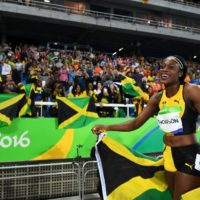 Jamaican Track – Watching the Olympics in Jamaica
