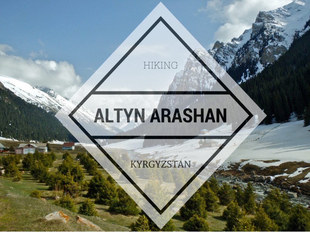 Hiking to Altyn Arashan in Kyrgyzstan