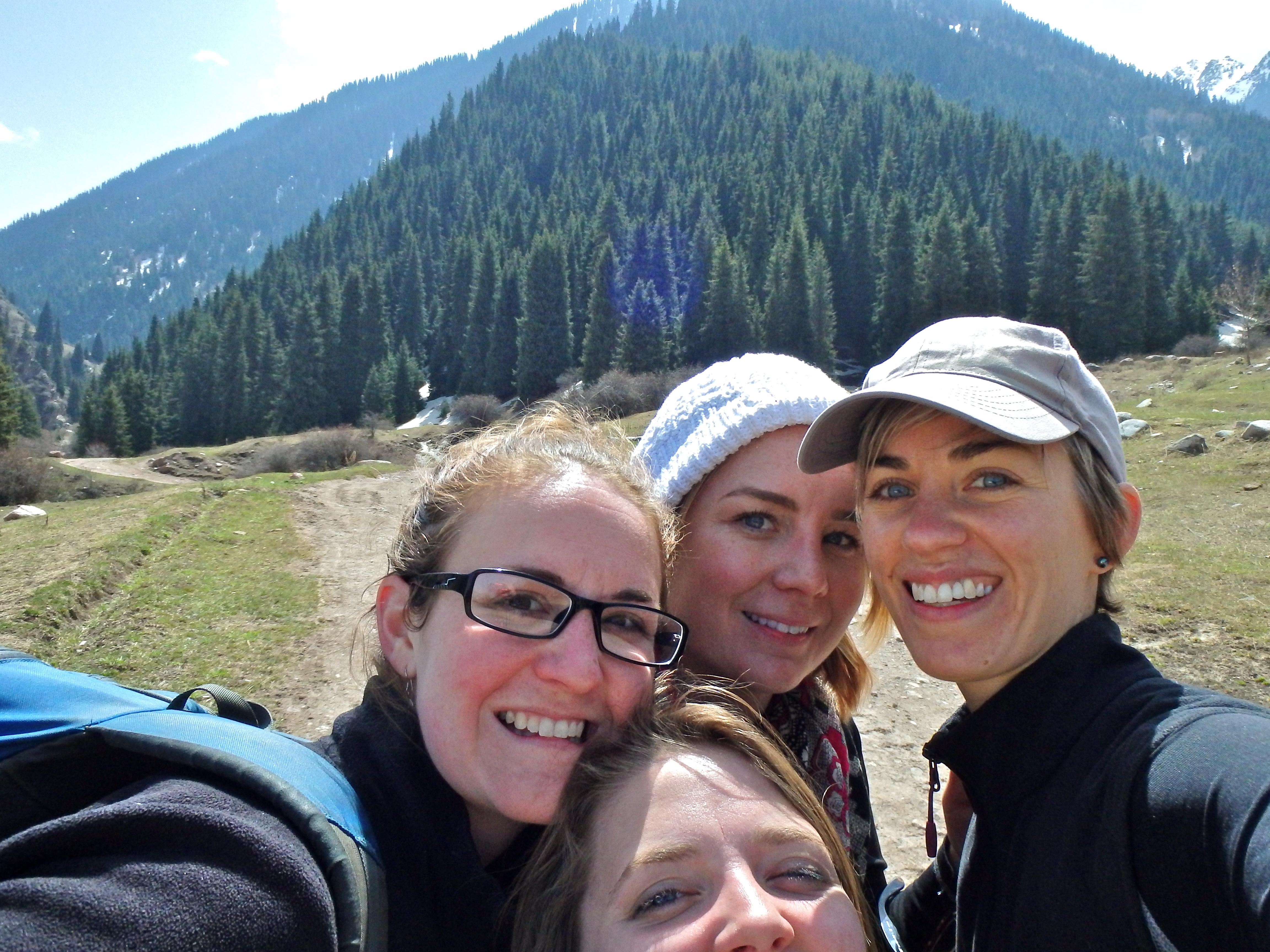 hiking in kyrgyzstan scenery, best hikes in kyrgyzstan