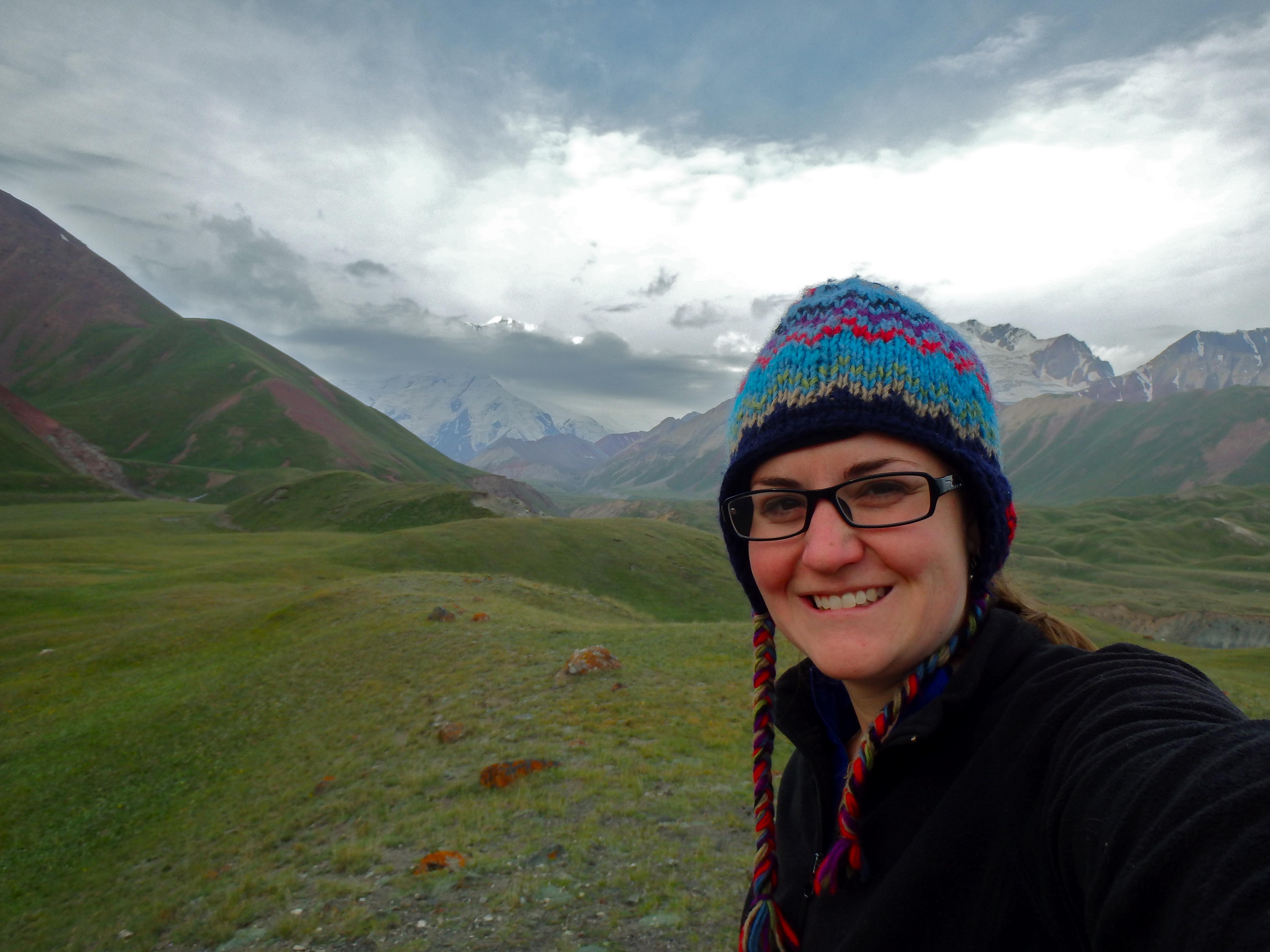 hiking Peak Lenin Kyrgyzstan