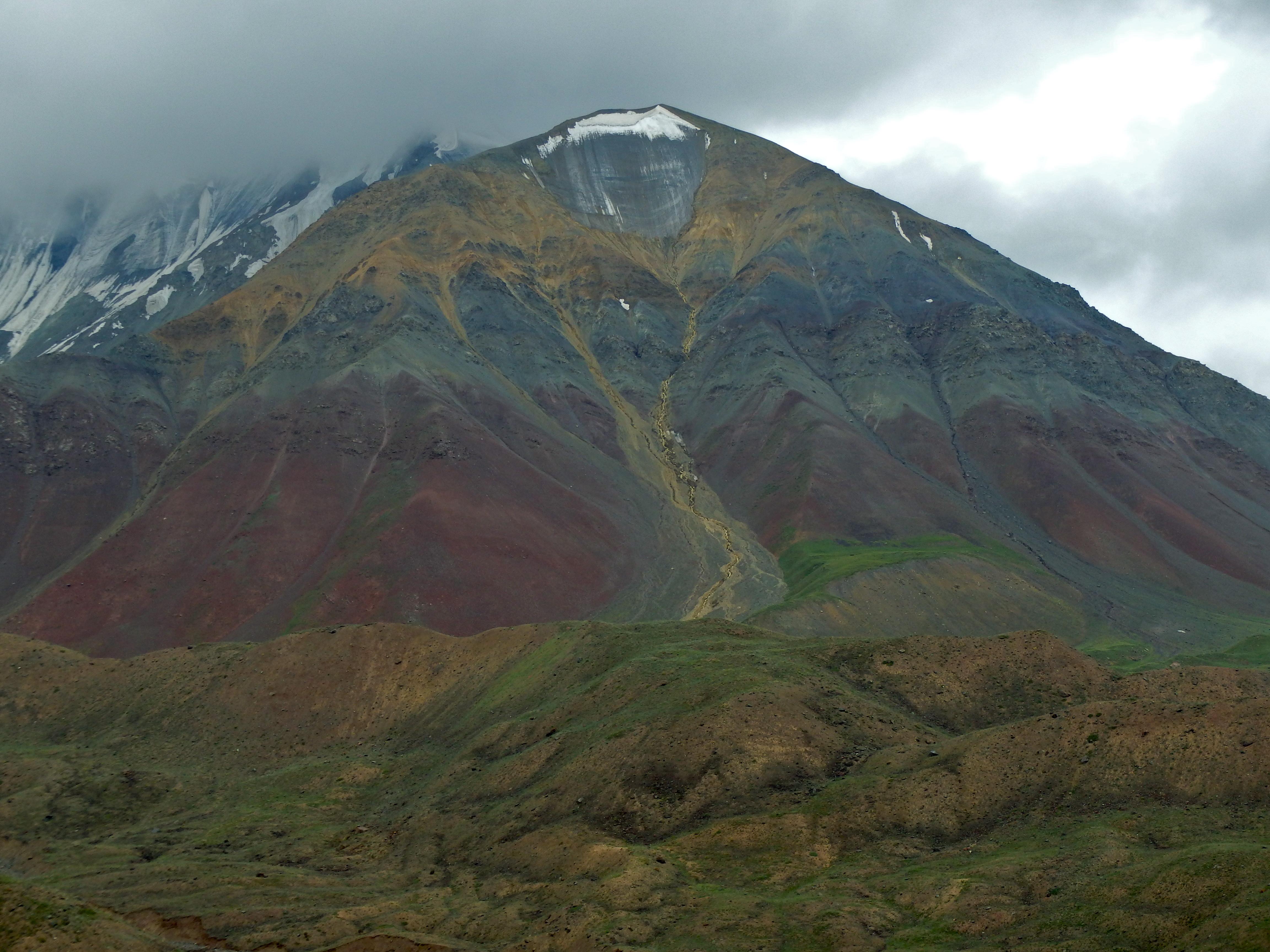 hiking Peak Lenin, Kyrgyzstan